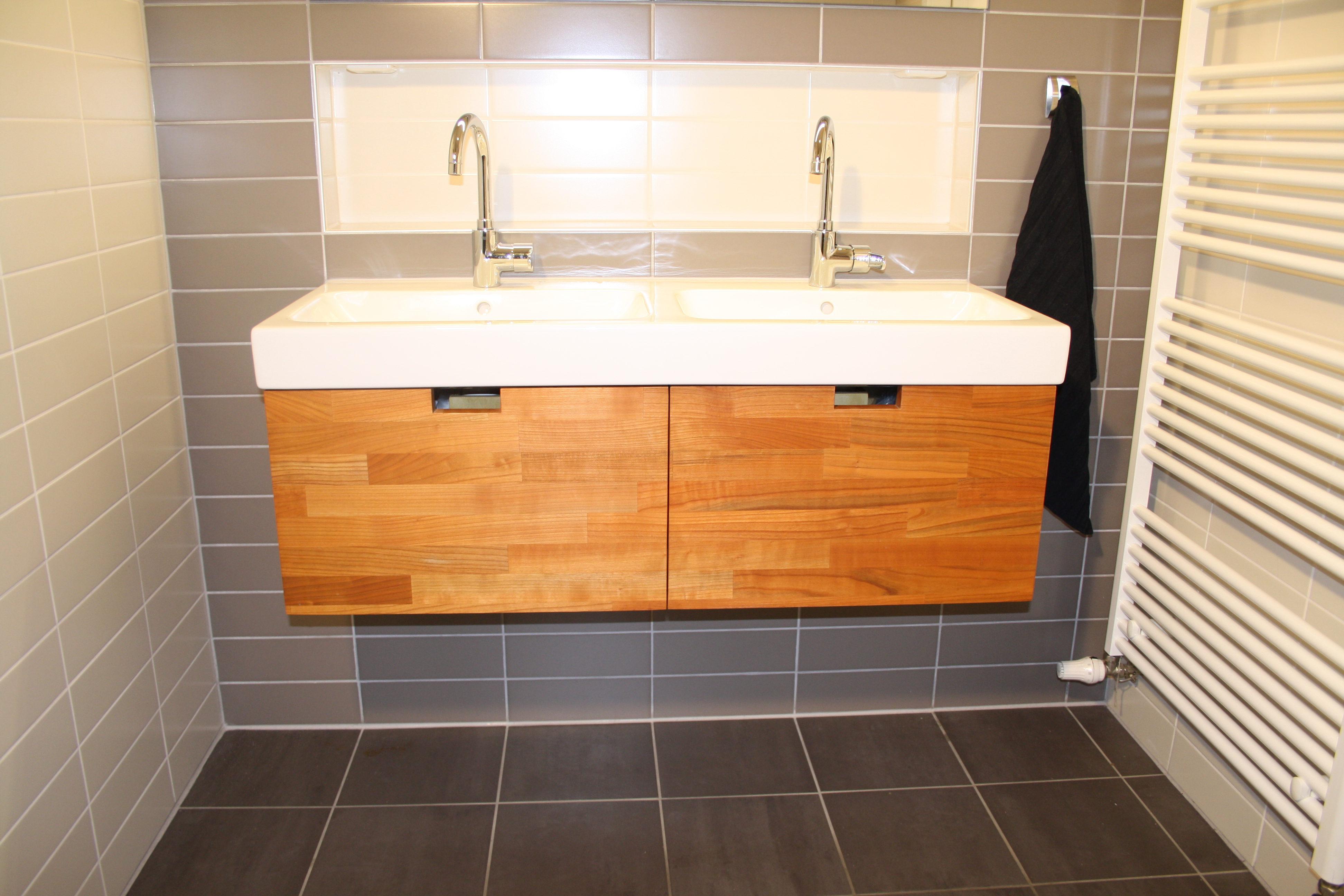 Badkamermeubel Op Maat : Badkamermeubel op maat joep slooten maakt t