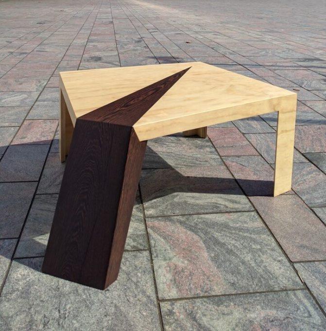 Unieke design salontafel