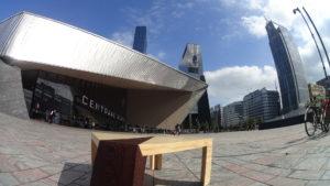 Unieke design salontafel voor NS-station Rotterdam